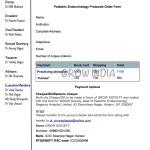 Pediatric Endocrinology Protocols Order form